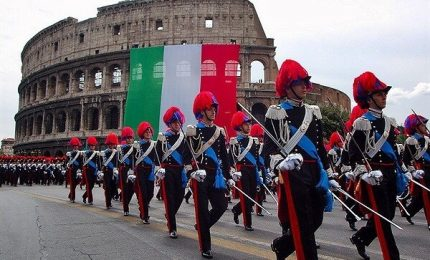 Comandante Carabinieri: ne mancano 9.003, età media troppo alta