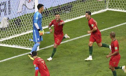 Ottavi, Uruguay-Portogallo e Spagna-Russia