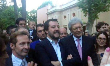 Salvini ospite d'onore alla festa russa, tra Kalinka e diplomazia