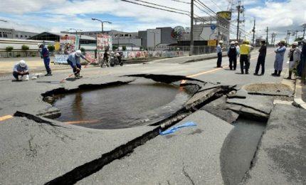 Terremoto in Giappone, le immagini della scossa