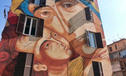 La street art di Tor Marancia, museo a cielo aperto di Roma