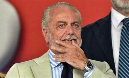 """De Laurentiis: """"Senza coppe ho perso 15 milioni di euro"""". Il 'caso' Sarri"""