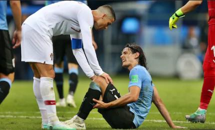 Cavani non si allena, in dubbio la presenza contro la Francia
