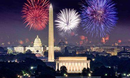 Fuochi d'artificio a Washington per Independence Day