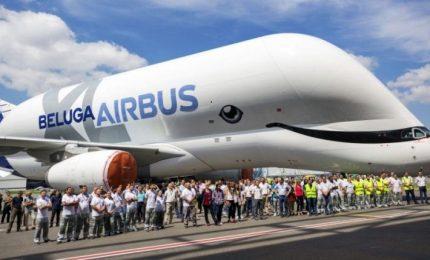 Balene nel cielo, primo decollo per il nuovo Airbus Beluga XL