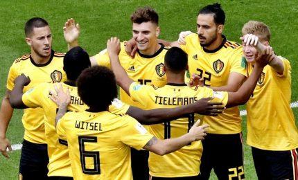 Al Belgio la 'finalina': 2-0 contro l'Inghilterra