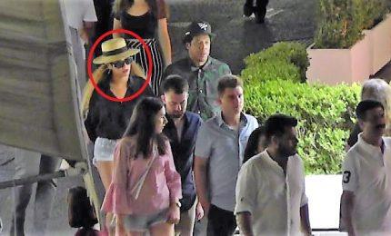 Beyoncé e Jay-Z in vacanza a Capri a bordo dello yacht Kismet
