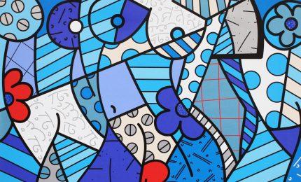 Romero Britto, un brasiliano a Milano tra Cubismo e Pop Art