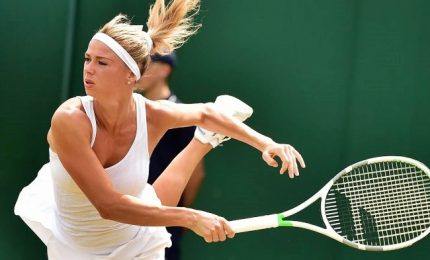 Wimbledon, Camila Giorgi combatte e si arrende al terzo set
