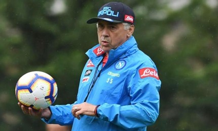 "Ancelotti anti-Juve: ""Loro favoriti, noi lottiamo"""