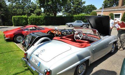 Golf e auto d'epoca, prima edizione Bmw Golf&Classic Car