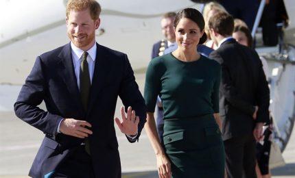 Harry e Meghan a Dublino, il primo viaggio da sposati all'estero