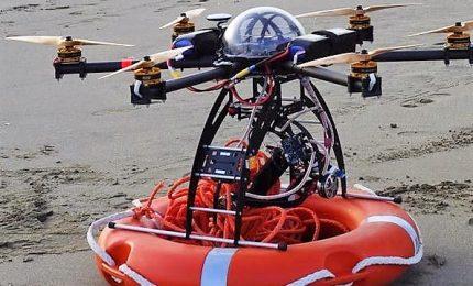 Soccorso in mare, con droni-bagnino salvagente arriva dal cielo