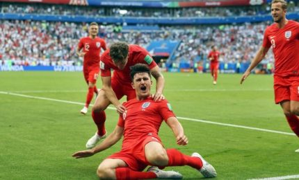 Inghilterra-Svezia 2-0, due colpi di testa ed è semifinale