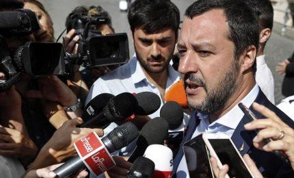 Salvini in Basilicata punge i 5 stelle, lavoro non polemizzo