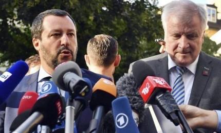 Salvini lancia asse italo-tedesco: insieme cambieremo le regole Ue sui migranti