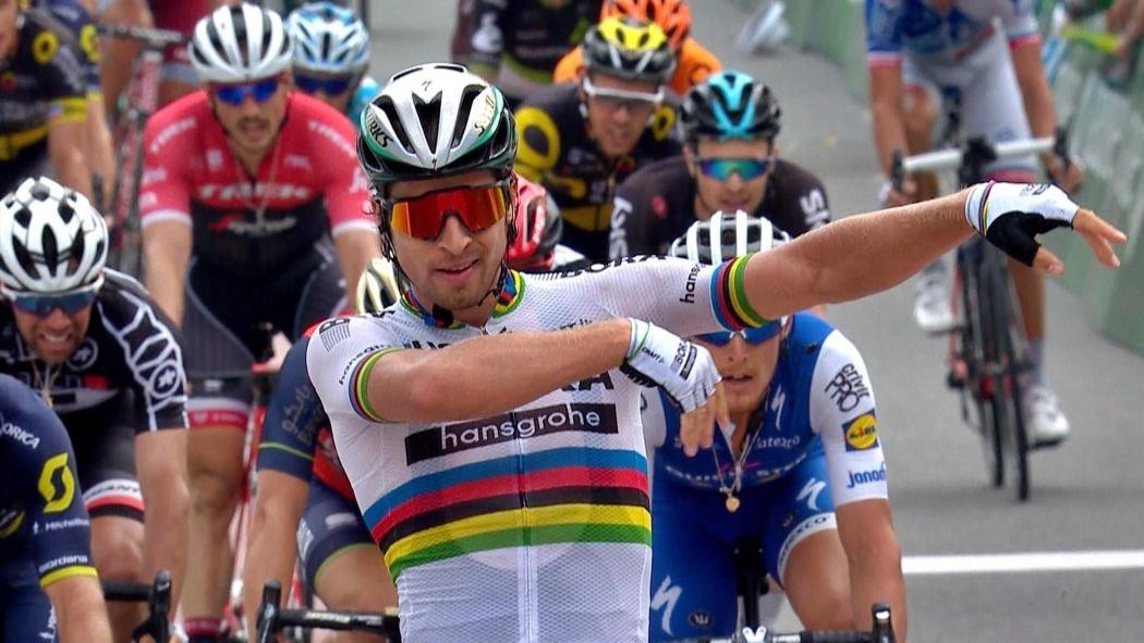 Tour de France, a Sagan tappa e maglia gialla