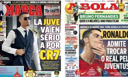 Ronaldo alla Juventus? Il club fa sul serio per CR7