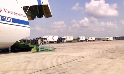 Siria, aiuti umanitari da Francia e Russia in Ghouta Est