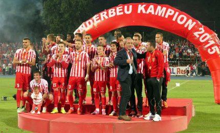 Uefa: maxi squalifica per gli albanesi dello Skenderbeu