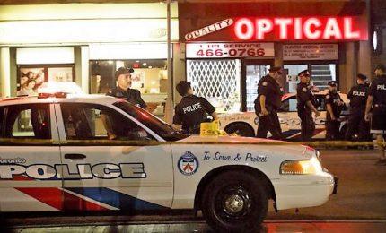 Sparatoria nel quartiere greco a Toronto, due morti e 14 feriti