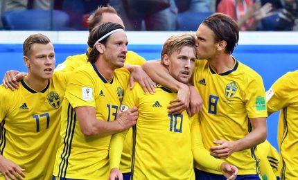Svezia-Svizzera 1-0, scandinavi ai quarti
