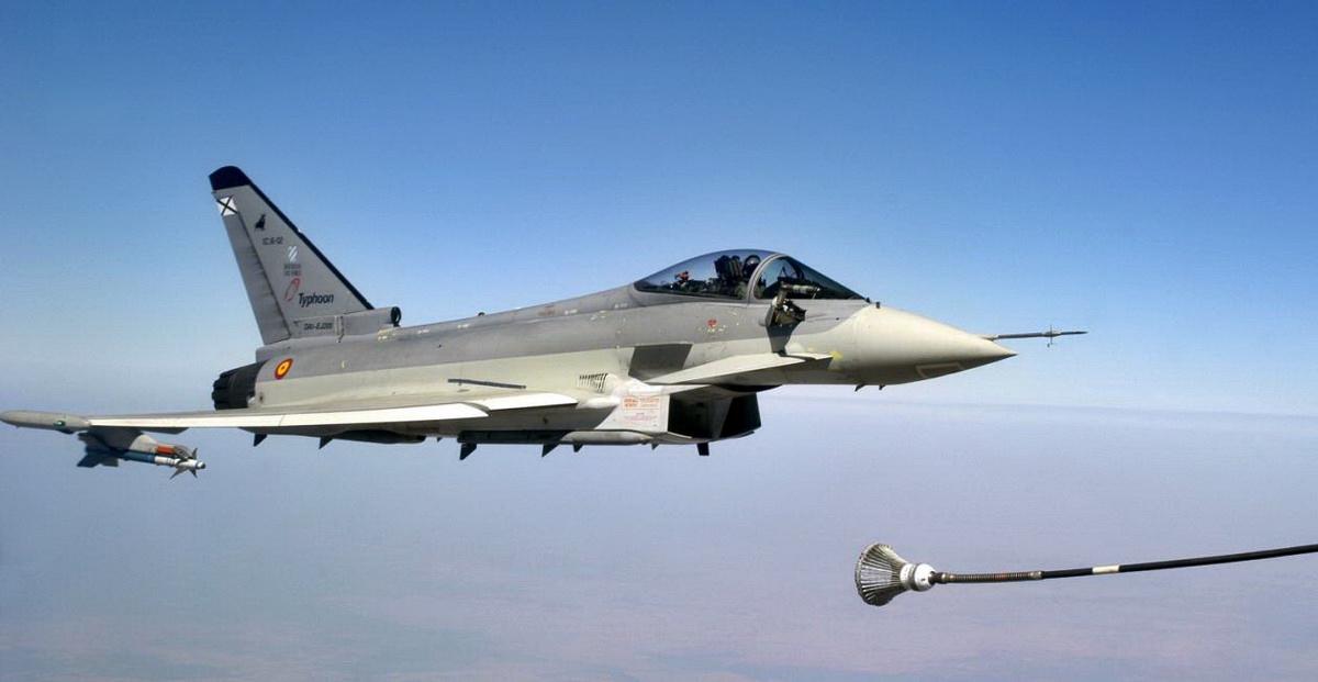 Doppio decollo immediato per caccia Aeronautica Militare
