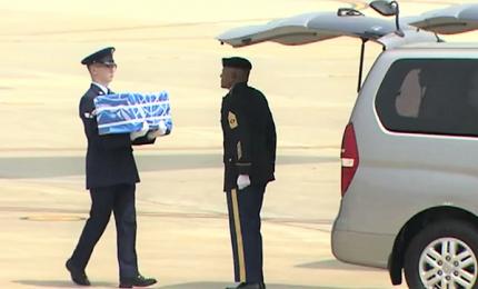 """Consegna resti dei soldati Usa. Trump: """"Grazie Kim"""""""