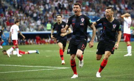 Croazia ai quarti, Danimarca battuta 4-3 dopo rigori