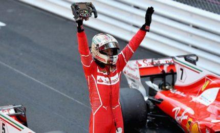 Ferrari davanti nelle libere, Vettel primo poi Kimi