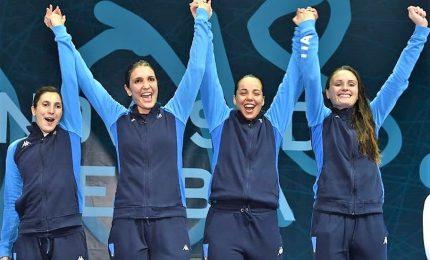 Mondiali, argento per la nazionale di fioretto femminile