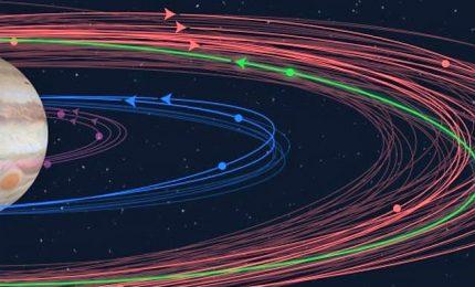 """Scoperte dodici nuove lune di Giove: undici sono """"normali"""" e una """"stravagante"""""""