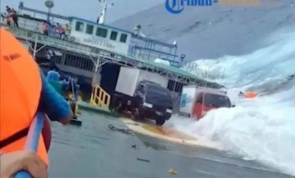 Alemeno 70 morti o dispersi per naufragio traghetto all'isola di Selayar
