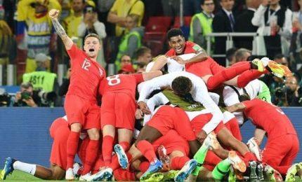 La Colombia si arrende ai rigori, l'Inghilterra passa ai quarti