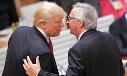Nuovo accordo Usa-Ue: verso dazi zero anche su acciaio e alluminio, eccetto auto. Bruxelles conferma