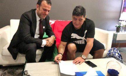 Maradona in Bielorussia, presidente del club Dinamo Brest