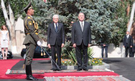 Armenia, Mattarella visita il memoriale genocidio 1915