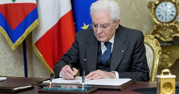 Mattarella ha firmato il decreto su legge su Carige