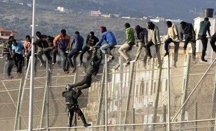 Marocco, 200 migranti scavalcano il muro a Melilla. Un morto