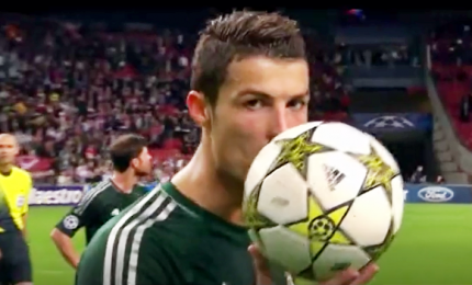 """Gracias, Cristiano"": il video omaggio del Real Madrid a CR7"