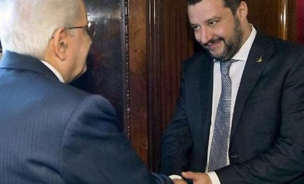 """Scontro Lega-Csm, Salvini insiste per Mattarella """"arbitro"""""""