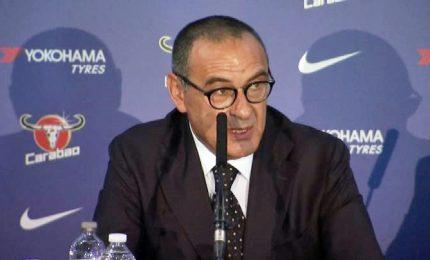 """Sarri si presenta a Londra: """"Chelsea, che sfida affascinante"""""""