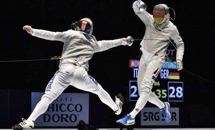 Ancora un podio per l'Italia, sciabola maschile argento in Cina
