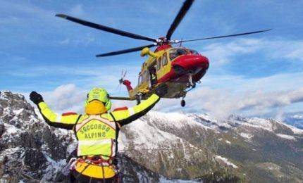 Incidente in montagna, muore bambina di otto anni