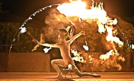 Torna a Palermo il suggestivo spettacolo del Teatro del fuoco