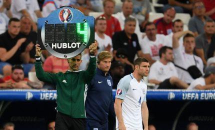 Calcio, l'Uefa autorizza quarta sostituzione nei supplementari