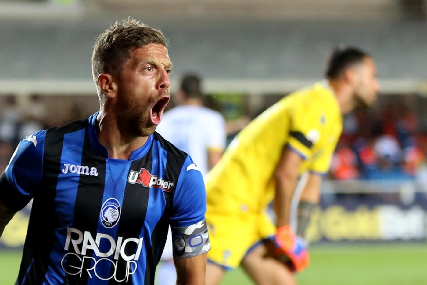 Atalanta-Frosinone 4-0 nel posticipo. Gasperini: Gomez è il nostro CR7