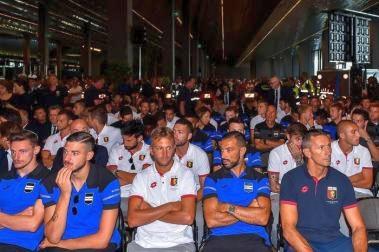 Ponte Morandi, Genoa e Samp unite al funerale di Stato