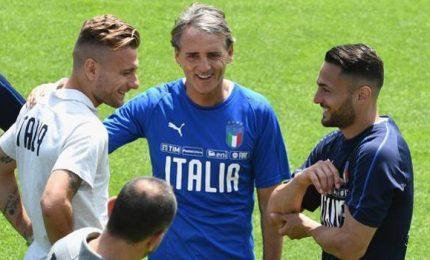 """Nazionale, Mancini: """"Giocheremo con il tridente"""""""