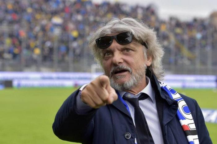 Calcio, dissequestrati beni patron della Samp Ferrero